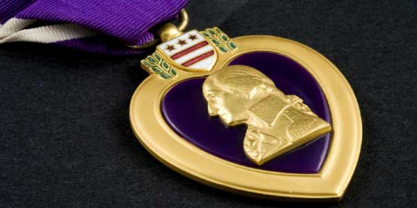 Purple Heart Veterans Day | Little Village Kids